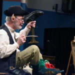 Young and old learn about leprechauns from storyteller Hal Pratt at the Dietrich Theater in Tunkhannock