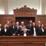 Abington Heights High School Mock Trial Team headed to state championships