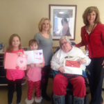 Newton Ransom students create Valentines for Abington Manor residents