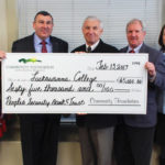 Peoples Security Bank and Trust Company supports Lackawanna College Environmental Education Center