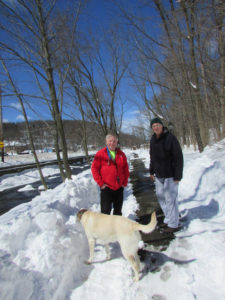 Area residents grateful to South Abington Township for clearing recreational park's walking path after winter storm Stella