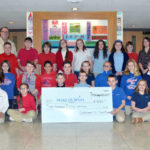Adrienne Rupp's fifth-grade class at Lakeland Scott Campus raises $550 for Make-A-Wish Foundation
