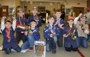 Cub Scout Pack 175 of Factoryville holds annual Pinewood Derby