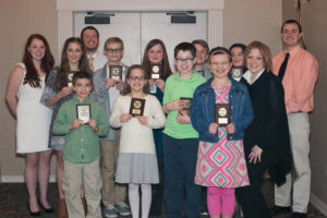 Abington Gators age group swim team holds awards banquet