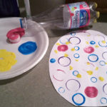My Project: Design your own painted paper Easter Eggs