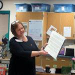 Lackawanna Trail Elementary Center hosts Beta Rho Chapter of Delta Kappa Gamma Society International