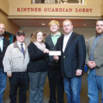 Nicholson Lodge #438 supports Dietrich Theater's Film Favorites Series with $350 donation