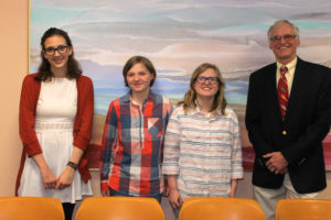 Barry Singer's Art Room students display work at the Abington Community Library