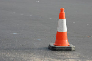 Abington Community Library paving project is underway