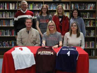 Lackawanna Trail's Rachael Beemer signs to play field hockey at Alvernia