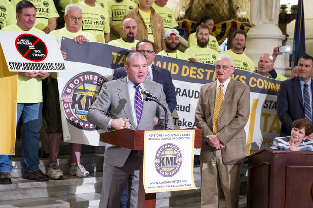 Legislative Musings: Proud to stand with unions