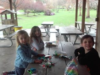 Rain doesn't stop South Abington Lions Club from offering Easter fun to kids