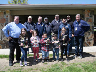 McDade Fishing Derby winners in 4-8 age category