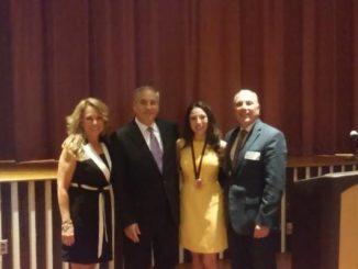 Abington Heights junior receives prestigious award for community service