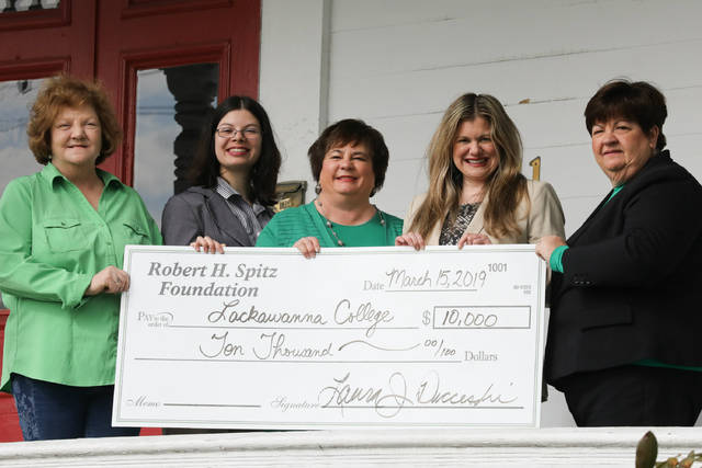 Lackawanna College receives grant from Robert H. Spitz Foundation