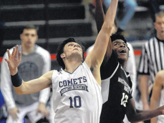 Abington Heights basketball star George Tinsley repeats as first-team all-state