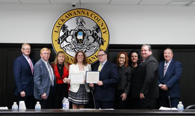 Lackawanna County receives 2019 Achievement Award