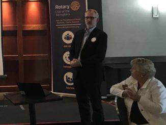 Sandvic president speaks at Rotary of the Abingtons meeting