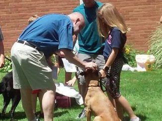 Pets receive blessings at Clarks Summit United Methodist Church