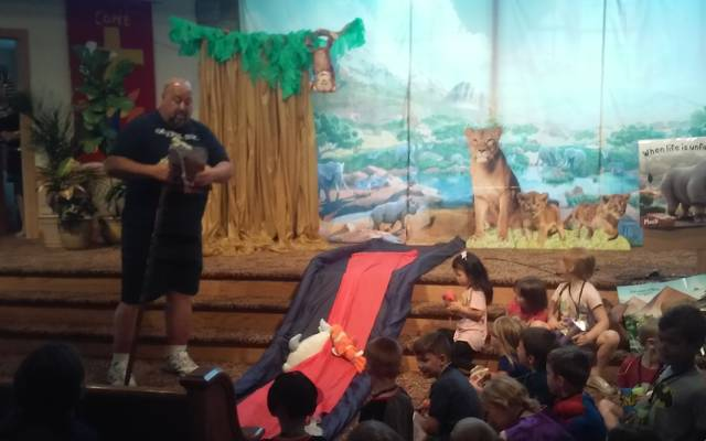 Countryside's Vacation Bible School becomes safari adventure