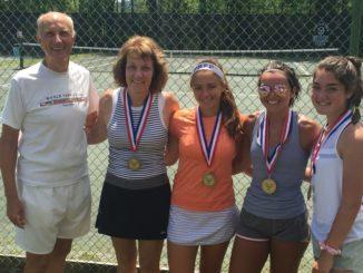 Lackawanna County Open Tennis Tournament held at Scranton Tennis Club
