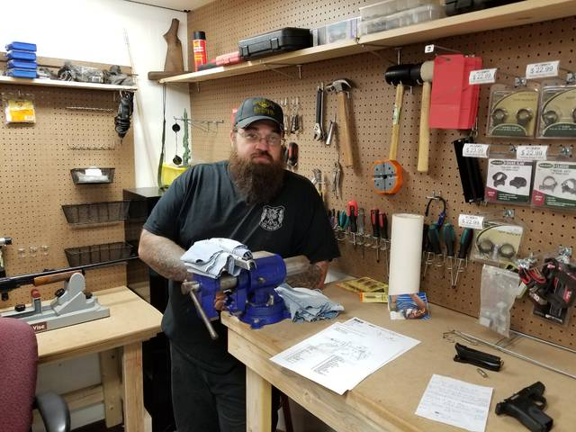 Business Spotlight: C & C Armory – five months in Dalton and all is well