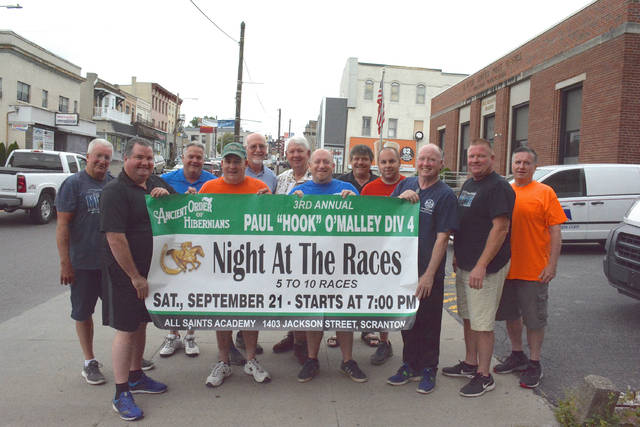 Ancient Oder of Hibernians plan Night at the Races for Sept. 21