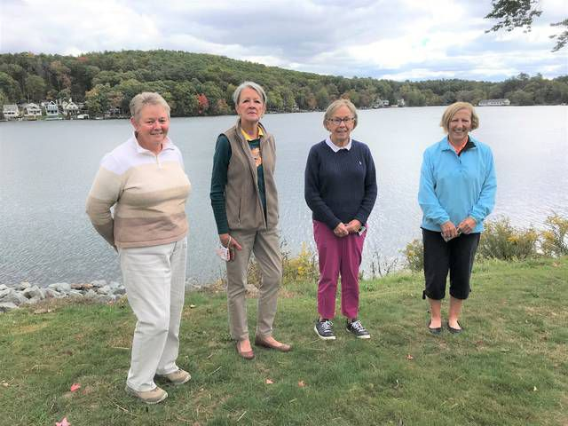 Pictured are the 2020 officers of the Women's Golf Organization of the Scranton Canoe Club: Cindy Lempicky, treasurer; Georgette Mecca, secretary; Pat Mould, chairperson; Sharon Karasack, vice-chairperson.