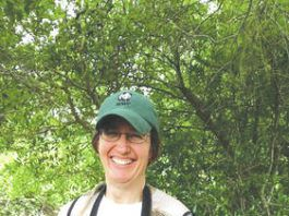 Pictured is Dr. Meg Hatch from Penn State who will be giving a presentation on birds at the Dietrich's next Science on Screen event on June 5.