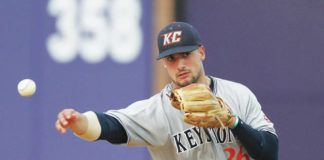 Abington Heights graduate Nick Carlini is having another strong season at Keystone College, which finished on top of the Colonial States Athletic Conference standings.                                  Submitted photo
