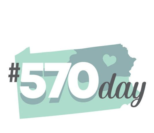 Organizers of #570 Day say the event aims to spread positivity, local pride and celebrate the people and places within the 570 area code.                                  Submitted