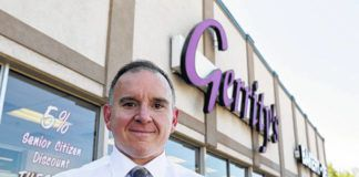 Gerrity's Supermarkets vice president and co-owner Joe Fasula stands outside the store in Hanover Township in this file photo. 'The only comfort is knowing that we're not alone,' Fasula said of the chain's struggle to find workers as the economy heats up.                                  Times Leader file photo