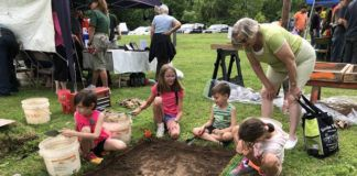 Throughout River Day, the Frances Dorrance Chapter of the PA Archaeological Society will have a demo where all ages can learn how to dig and screen for artifacts.                                  Submitted photo
