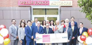 Wells Fargo Advisors recently hosted a ribbon cutting and grand opening at its new location in the Scranton Enterprise Center.                                  Submitted photo